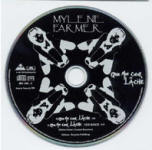 Mylène Farmer Que mon coeur lâche CD Single France