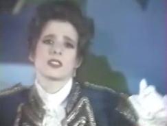 Mylène Farmer - Pour le plaisir - FR3 Alsace - 20 avril 1986 - Capture