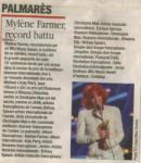 Mylène Farmer Presse France Soir 19 janvier 2009