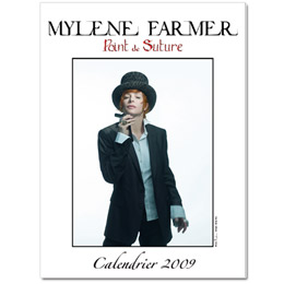 Mylène Farmer Calendrier 2009 Point de Suture