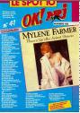 Mylène Farmer Presse OK ! 31 octobre 1988