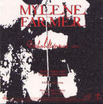 Mylène Farmer Déshabillez-moi Live CD Promo