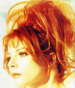 Mylène Farmer L'instant X Tournage clip Photo: Claude Gassian