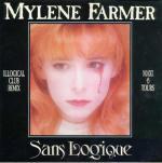 Mylène Farmer Sans Logique Maxi 45 tours France Pochette recto