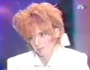Mylène Farmer - Laser - M6 - Mai 1987 - Capture
