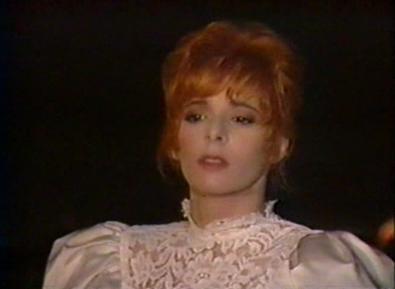 Mylène Farmer Les discos 'or sous le soleil du Québec FR3 21 août 1988 TF1