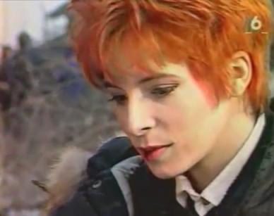 Mylène Farmer - Pour un clip avec toi - M6 - 07 avril 1991 - Capture