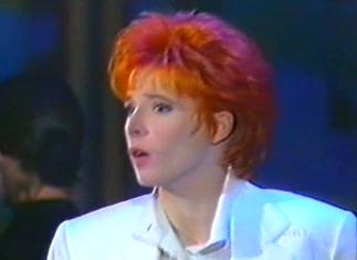 Mylène Farmer - Riva Del Garda - Rai Uno - Septembre 1991 - Capture