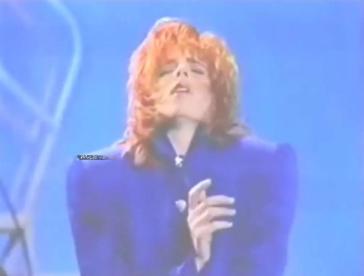 Mylène Farmer - Zénith - Canal Plus - 19 mars 1987 - Capture