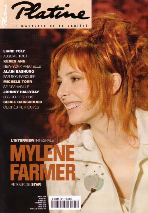 Platine - Janvier 2005