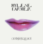 Moby & Mylène Farmer Optimistique-moi CD Promo France Pochette Recto