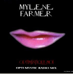 Moby & Mylène Farmer Optimistique-moi CD Promo N°2 France Pochette Recto