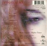 Moby & Mylène Farmer Optimistique-moi CD Single France Pochette Verso