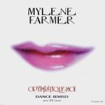 Moby & Mylène Farmer Optimistique-moi Maxi 33T France Promo N°1 Pochette Recto