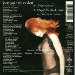 Mylène Farmer Souviens-toi du jour CD Single France Pochette Verso