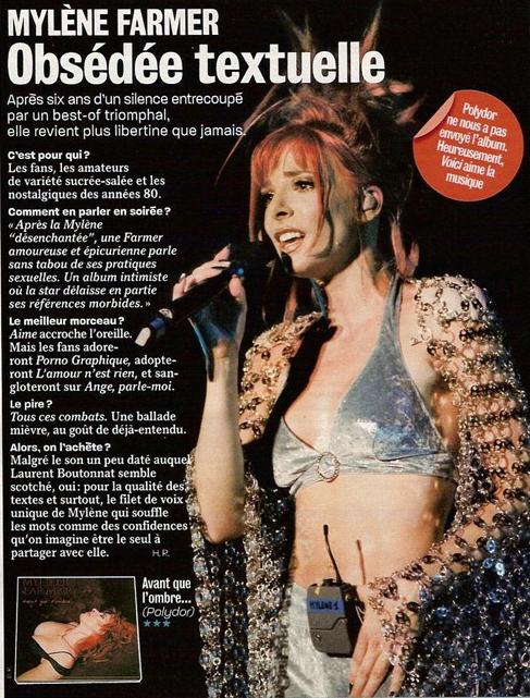 Mylène Farmer Presse Voici Avril 2005