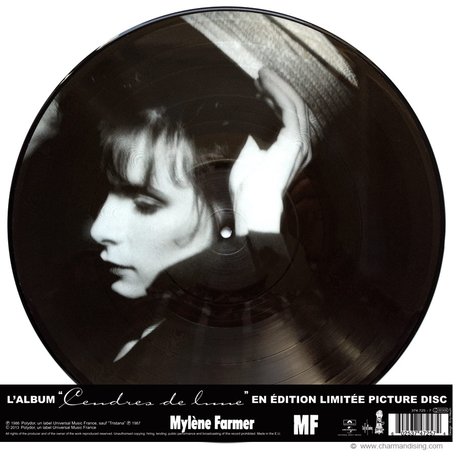 Picture Disc Cendres de Lune