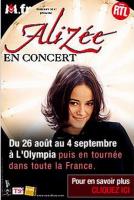 Alizée Concerts 2003
