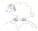 Dessin Mylène Farmer Dessine-moi un mouton 2000