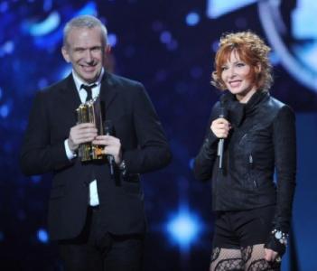 Jean-Paul Gaultier Mylène Farmer NRJ Music Awards 2012