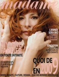 Madame Figaro 27 décembre 2008