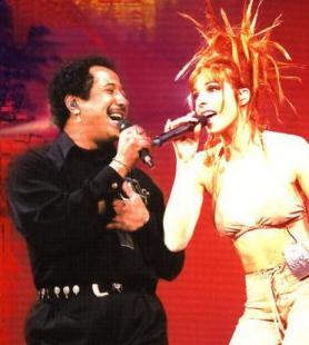 Khaled et Mylène Farmer