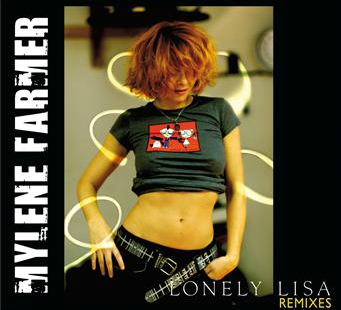 Lonely Lisa CD Maxi Mylène Farmer