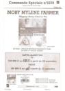 Mylène Farmer Peut-être toi Bon de précommande CD Maxi