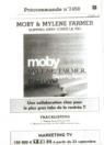 Mylène Farmer Peut-être toi Bon de précommande CD Single