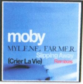 Slipping Away (Crier la vie) - CD Maxi Promo Grèce