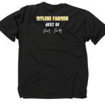 Mylène Farmer Merchandising 2001.2011 T Shirt Noir Homme