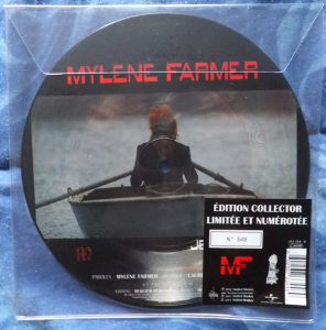 Mylène Farmer Je te dis tout 45 Tours Picture Disc