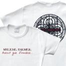 Mylène Farmer Merchandising Avant que l'ombre... à Bercy T-Shirt blanc