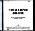 Mylène Farmer Bleu Noir CD Promo Ukraine