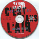 Mylène Farmer C'est dans l'air Tiësto Remix CD Promo Remix France