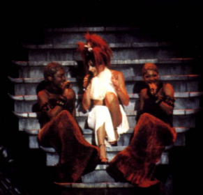 Mylène Farmer California Mylenium Tour Photo Claude Gassian