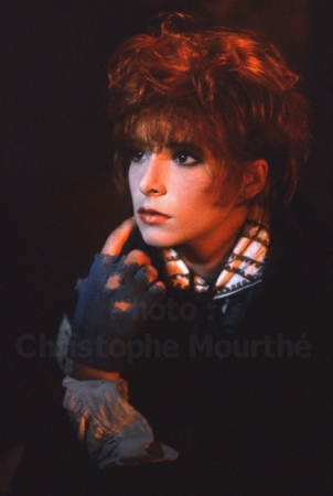 Mylène Farmer Photo Christophe Mourthé 1987
