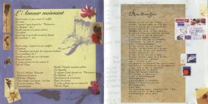 Mylène Farmer Livret Album Innamoramento