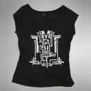 Mylène Farmer Monkey Me T-Shirt Logo Femme