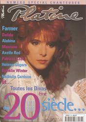 Mylène Farmer Presse Platine Janvier 2000