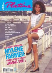 Mylène Farmer Presse Platine Mai 2005