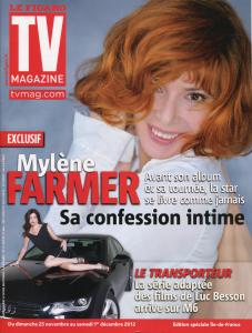 Mylène Farmer TV Magazine 23 novembre 2012