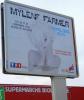Mylène Farmer Timeless 2013 Affichage Toulouse