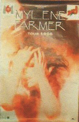 Tour 1996 - Affiche Rouge