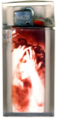 Mylène Farmer Tour 1996 Merchandising Briquet transparent