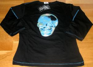 Tour 2009 - T-Shirt Manches Longues Skull Femme