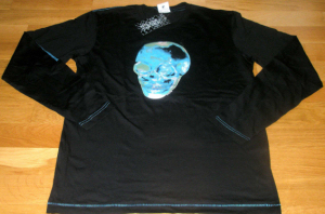 T-Shirt Manches Longues Skull Homme