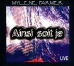 Single Ainsi soit je Live - CD Promo