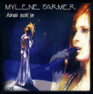 Single Ainsi soit je... Live - CD Single