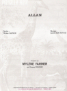Mylène Farmer Allan Live Partition Editions dites Girafe